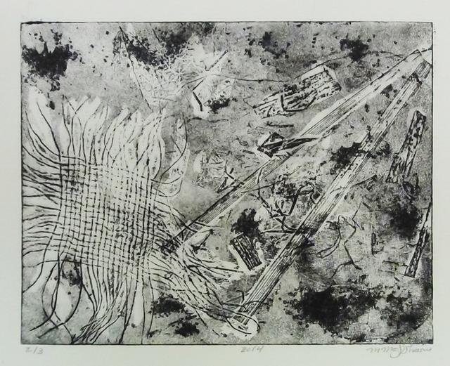 , 'Intaglio Print 2_3,' 2014, Hafez Gallery