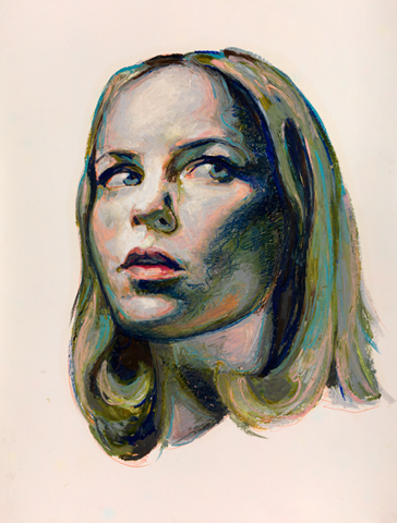 Mercedes Helnwein, 'Michelle', 2012, KP Projects