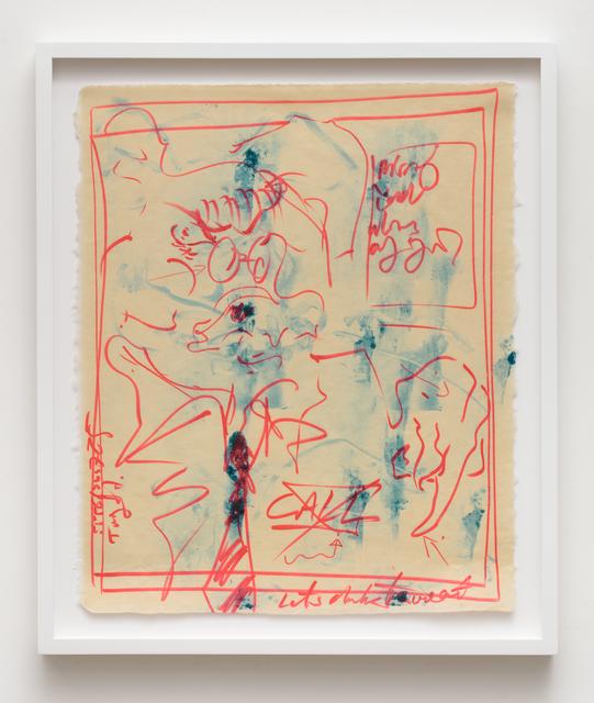 Uri Aran, 'After Doodle', 2017, Independent Curators International (ICI)