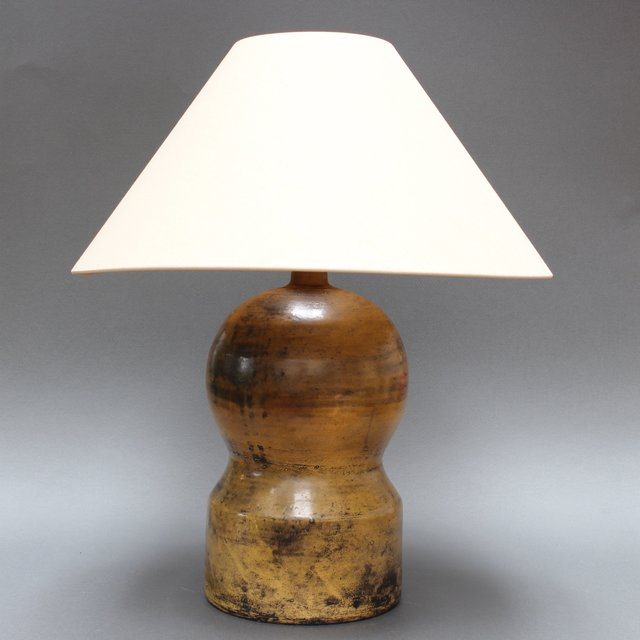 , 'Ceramic Gourd-Shaped Lamp by Jacques Blin ,' 1950-1959, Bureau of Interior Affairs