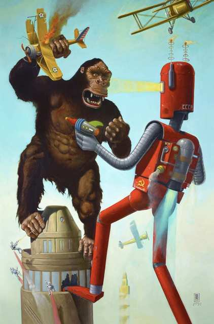 Geoffrey Gersten, 'King Kong Vs The Atomic Robot', 2019, Bruce Lurie Gallery