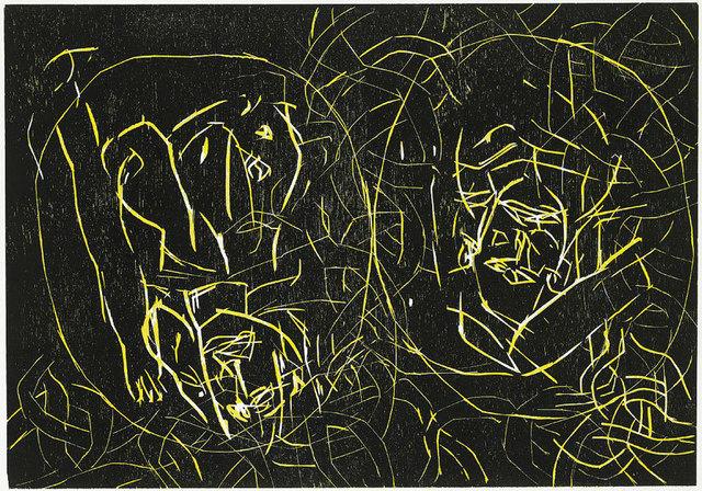 , 'Frau und Frau,' 1994, Galleri Bo Bjerggaard
