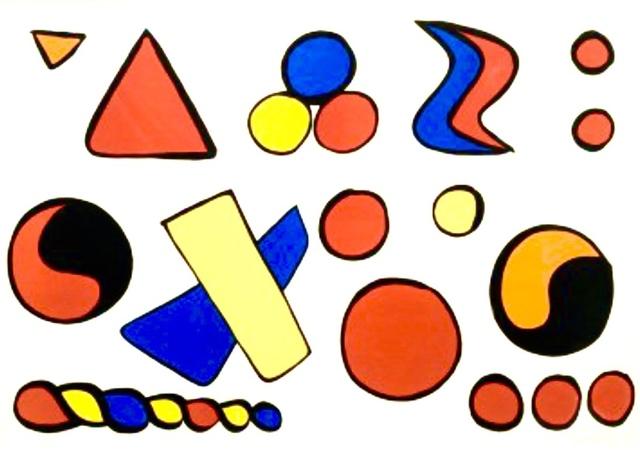 Alexander Calder, 'Composition aux formes Géométriques', 1965, BOCCARA ART