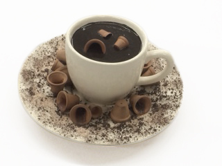 , 'cup with dirt and planters,' 2017, Lois Lambert Gallery