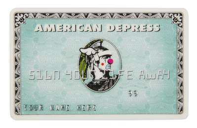 American Depress MonsterCard