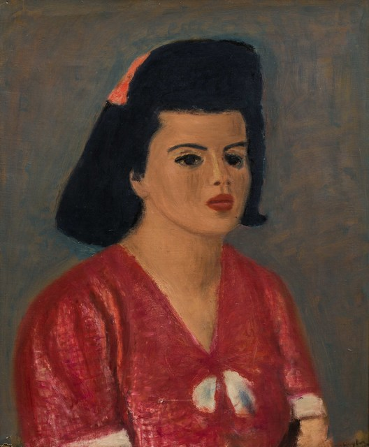 Henri Hayden, 'Portrait de Madame Inès Sassier', Leclere