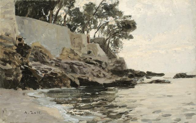 , 'Evening atmosphere at Nervi,' 1886, Galerie Kovacek