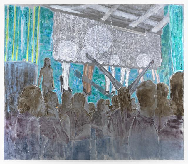 , 'Cardboard Legs,' 2016, Albertz Benda