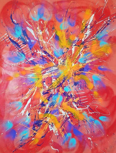 ISA-L, 'N°50.4 La vie en rose', 2019, Galerie Libre Est L'Art