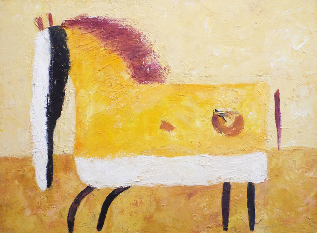 , 'Amber Horse,' 2016, Carter Burden Gallery