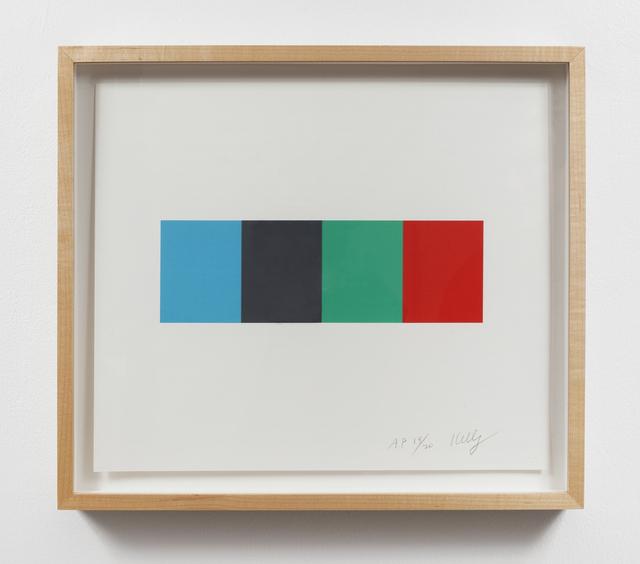 , 'Blue Gray Green Red,' 2008, Gemini G.E.L.
