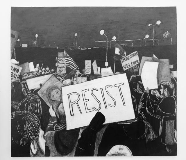 , 'Resist,' 2019, Gallery 16