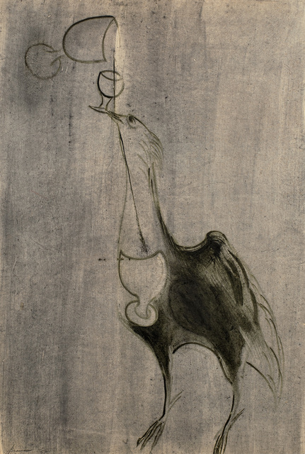 , 'Bird & Chalices,' 1950, Michael Rosenfeld Gallery