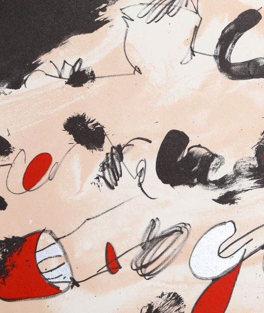 Josep Guinovart, 'New York', 1984, Print, Lithograph, RoGallery