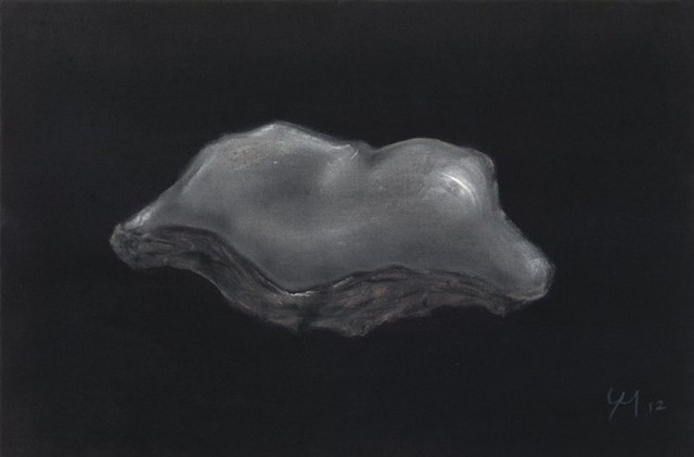 , 'Oyster Shell,' 2012, Grob Gallery