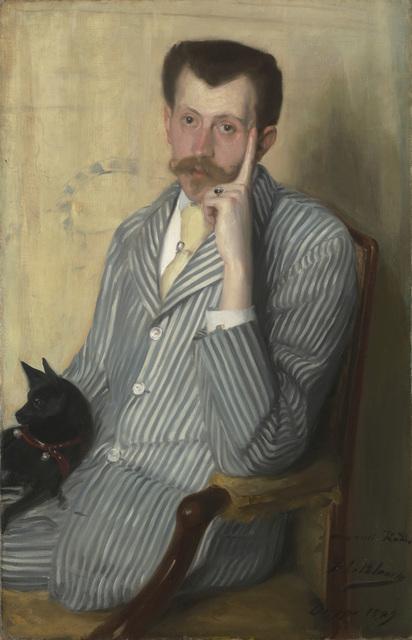 , 'Portrait of George Porto-Riche,' 1889, Robilant + Voena