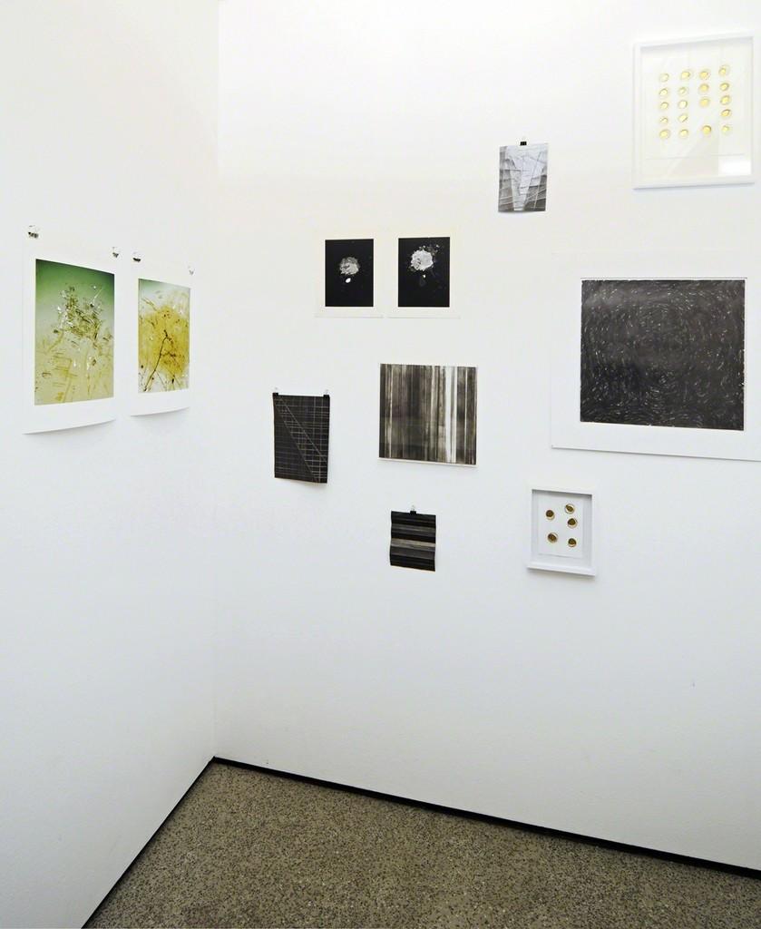 Kleines Kabinett: works by Jürgen Baumann, Gerda Schütte, Takayuki Daikoku, Michael Kutschbach, Henrik U. Müller and Harald Kohlmetz; photo: Jürgen Baumann