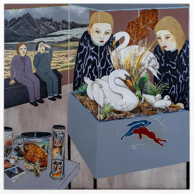 Maya Hewitt, 'Observation Ward', 2019, Painting, Oil and acrylic on canvas, NUNU FINE ART