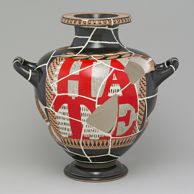 , 'Hydria 13-4165 with Hate,' 1994, Bellevue Arts Museum