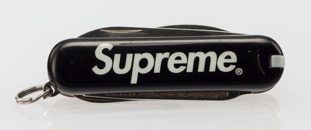 Supreme, 'Victorinox Swiss Army Knife (Black)', 2017, Heritage Auctions