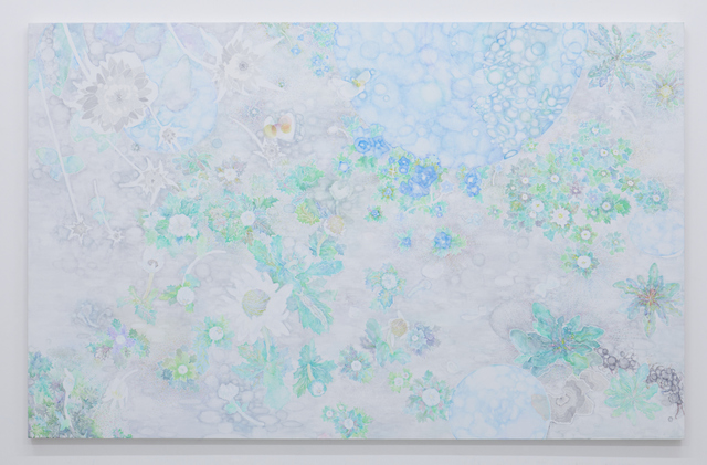 , '大きな雲の流れる下で 花のひらく音を聴く Listening to the sound of flowers blooming under large clouds flowing,' 2016, Tomio Koyama Gallery