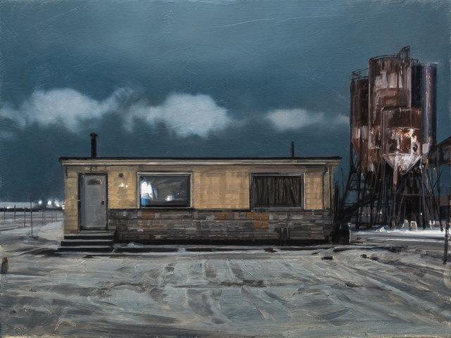 , 'Neve/Notte N.3,' 2019, Galleria Punto Sull'Arte