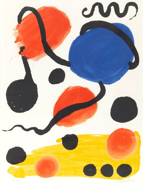 Alexander Calder, 'For Mourlot Studio Exhibition. New York ', 1966, William Weston Gallery Ltd.