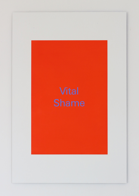 , 'Vital Shame,' 2018, Super Dakota