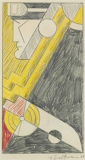 Roy Lichtenstein, 'Study for Little Aviation', Christie's
