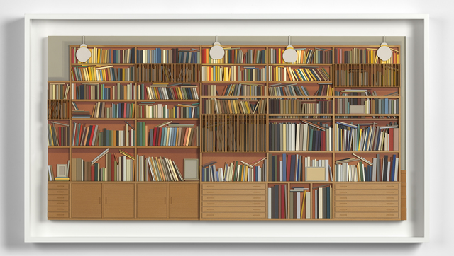 Lucy Williams, 'Library at Maison Louis Carré', 2017, Berggruen Gallery