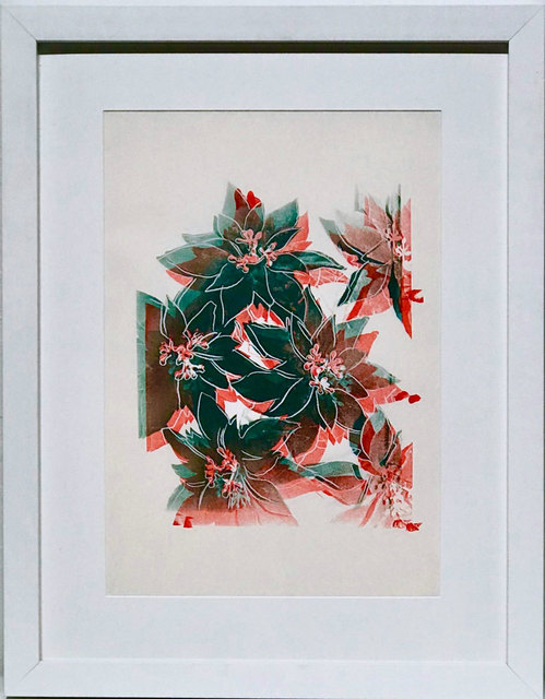 , 'Poinsettias,' 1985, Robert Fontaine Gallery