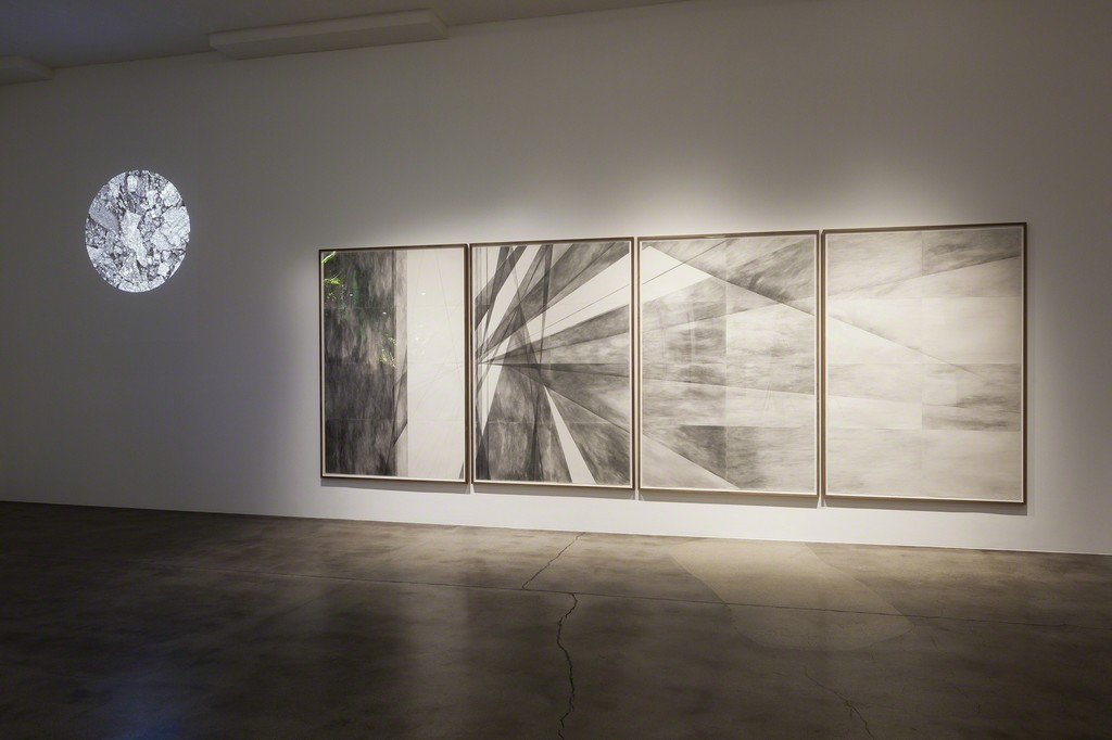 Installation view: Aether & Einstein. Photo: Christian Saltas.