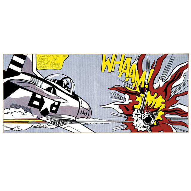 Roy Lichtenstein, 'Whaam!', 2013, Print, Screen print on premium heritage white paper. 315gsm, EHC Fine Art Gallery Auction