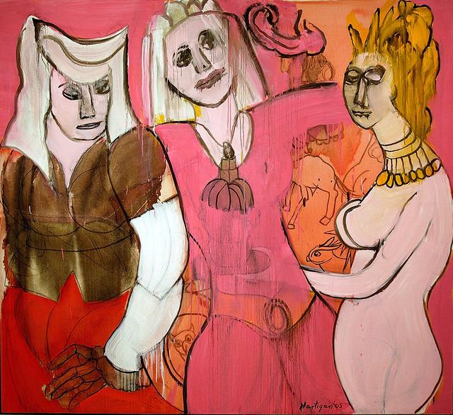, 'Bosch's Women,' 2005, C. Grimaldis Gallery