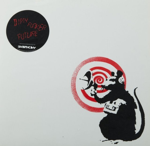 , 'Dirty Funker - Future (Radar Rat) Red edition on white,' 2000-2010, NextStreet Gallery