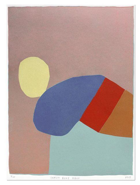 Kristin Texeira, 'Sunset Blue Hour', 2019, Uprise Art