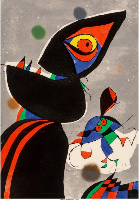 Joan Miró, 'Gaudí XVII', 1979, Heritage Auctions