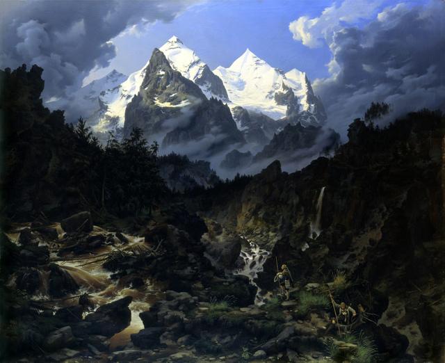 , 'The Wetterhorn,,' 1830, Alte Nationalgalerie