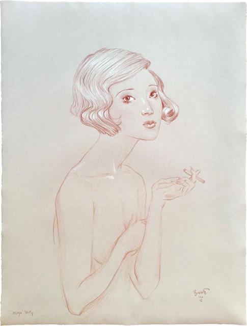 , 'Moga Study,' 2012, Scholten Japanese Art