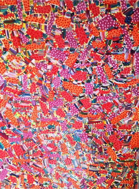 , 'Liscensure In Crimson,' 2017, UNIX Gallery