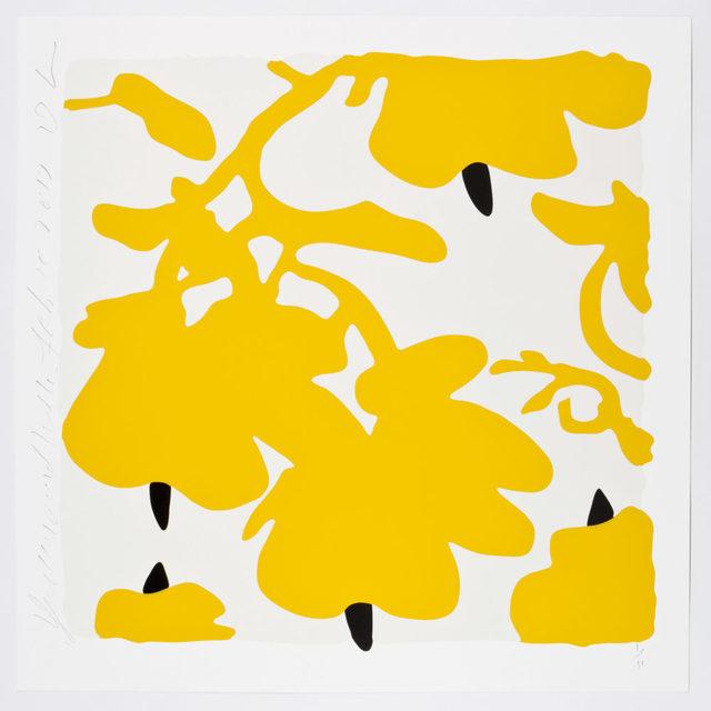 , 'Lantern Flowers (Yellow and White),' 2017, Maune Contemporary