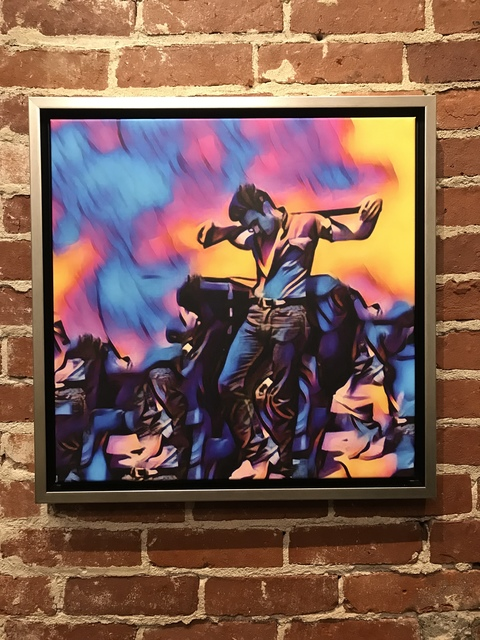 , 'Electric Blue James Dean,' 2018, Mason-Nordgauer Fine Arts Gallery