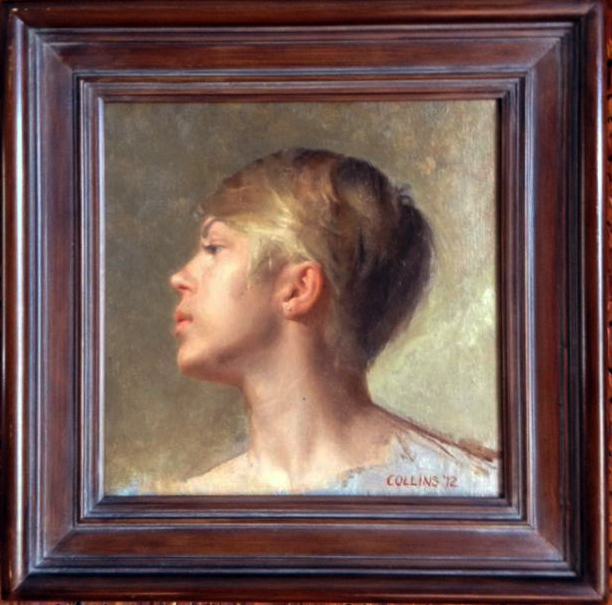 Jacob Collins, 'Lilia', 2012, Painting, Oil on canvas, Adelson Galleries