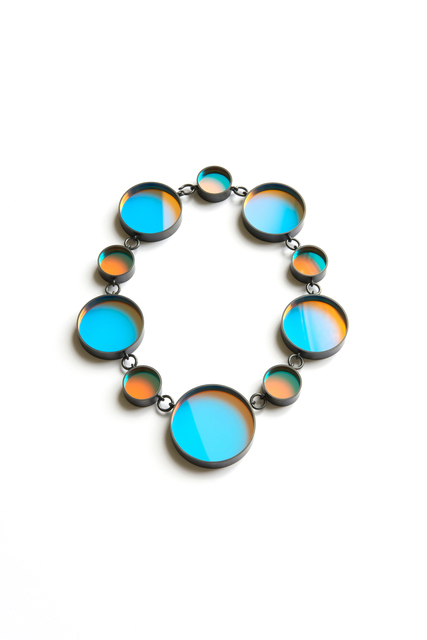, 'Bi necklace (cyan /orange),' 2014, Ornamentum