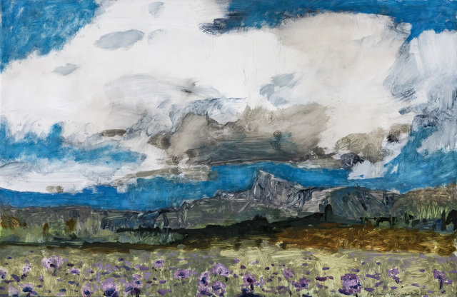 , 'Field at Crested Butte,' 2019, Valley House Gallery & Sculpture Garden