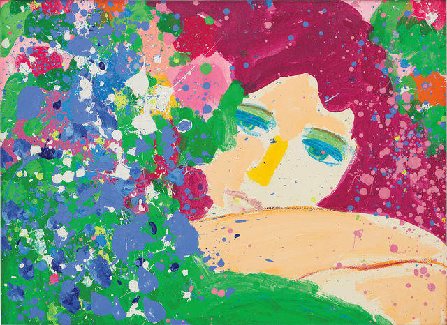 Walasse Ting 丁雄泉, 'I Think Of You', 1985, Phillips