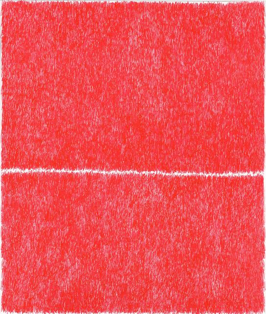 , 'Spray Red 9,' 2019, Haw Contemporary