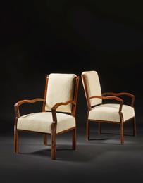 Eugène Printz, 'Pair of Armchairs,' circa 1930, Sotheby's: Important Design
