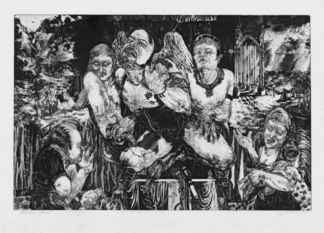 Diane Victor, 'The Adoration of St Eugeune (sic)', 1987, Strauss & Co