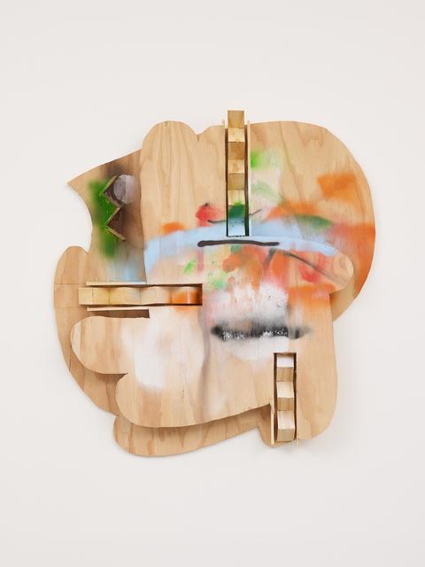 Richard Tuttle, 'Story X', 2020, Mixed Media, Plywood, spray paint, pine, Galerie Greta Meert